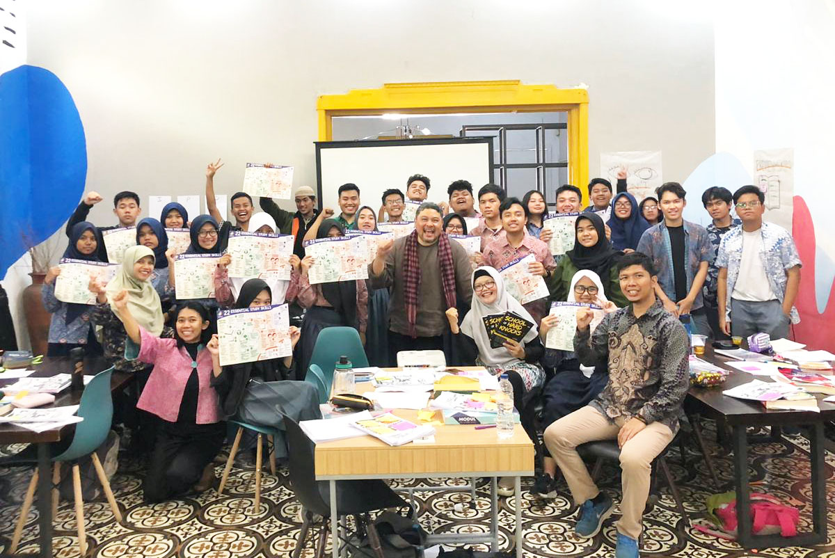 EGS Held a Study Skill Training with LFP Singapore